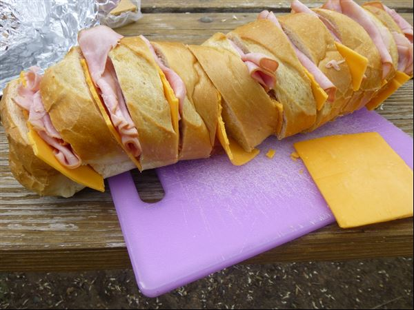 ... – Grilled Ham and Cheese Pull-Apart Sandwich Loaf | Lamppostings